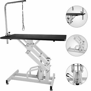 42-5-x23-6-039-039-Z-Lift-Hydraulic-Pet-Dog-Grooming-Table-Adjustable-W-Arm-amp-amp-Noose
