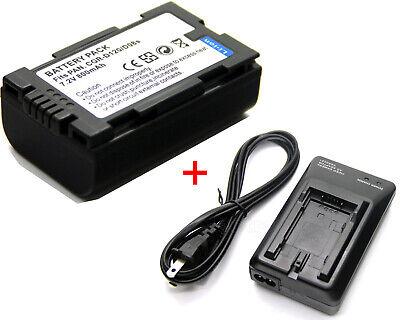 AKKU FÜR Panasonic NV-GS8 GX7 MG3 MX1 MX1000 MX2 MX2000