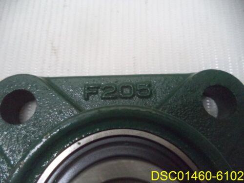 "3 3//4/"" x 3 3 //4/"" F205 Flanged Bearing Block 1/"" Bore"