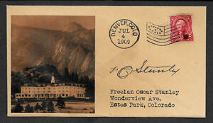 The Stanley Hotel 1909 Opening Collector's Envelope Reprint The Shining OP1095
