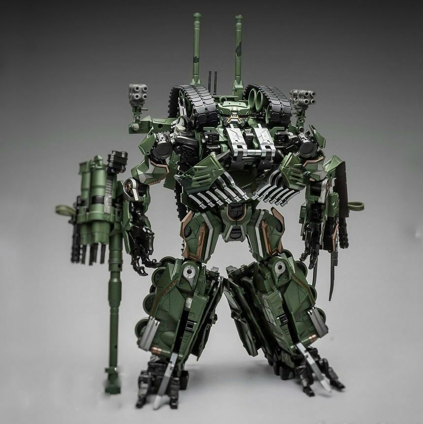 TRANSFORMERS - Brawl OverGrößed Armed Cannon M1A1 Robot Force Weijiang New 11.8