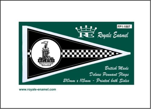 ROYALE ANTENNA PENNANT FLAG RALEIGH EMBLEM CHOPPER FP1.1507