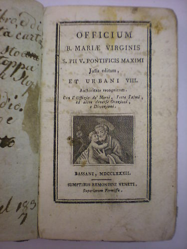(religione-mariologia) Officium Beatae Mariae Virginis Senza Ritorno