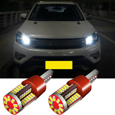 2x LED Side Light Beam Parking Bulbs Error Free Canbus For Audi A6 C7 11-16