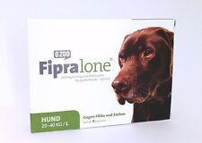 FIPRALONE (Fiproline) 268mg Lösung z Auftropfen -große Hunde vet 4st PZN11360776