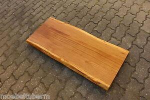Das Bild Wird Geladen Tischplatte Platte Eiche Miv Holz Mit Baumkante Neu