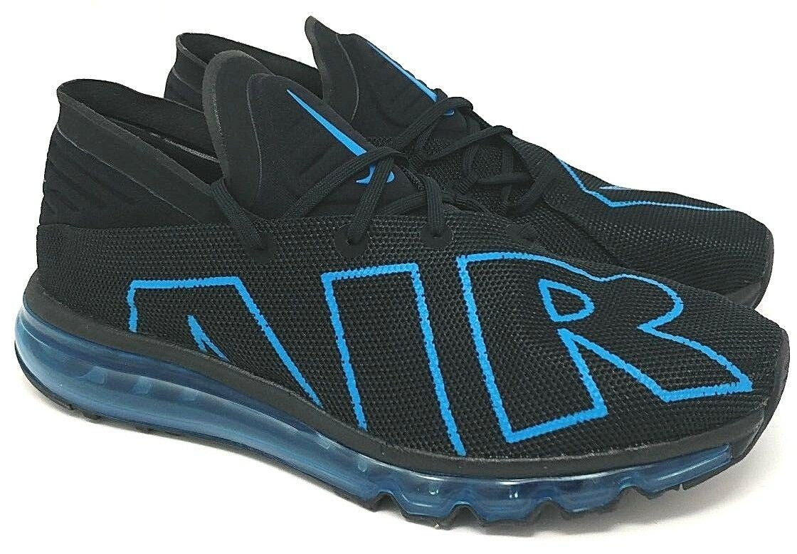 Nike Air Max Flair SIZE 10 Black/Cyan Price reduction  Cheap and beautiful fashion