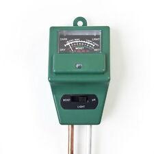 PH Tester Soil Water Moisture Light Test Meter sensor for Garden Plant Flower AE