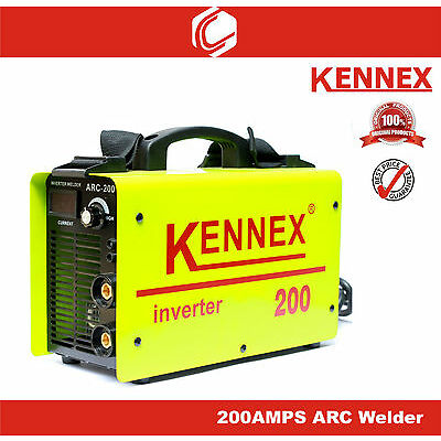 KENNEX 200amps ARC Inverter Welding Machine-IGBT inverter technology Heavy Duty
