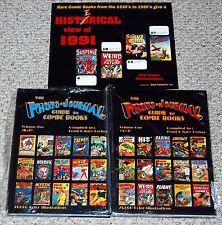 Gerber THE PHOTO JOURNAL GUIDE TO COMIC BOOKS vol 1 2 HC +1991 Calendar Book Lot