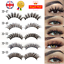 5Pairs-3D-Natural-False-Eyelashes-Long-Thick-Mixed-Fake-Eye-Lashes-Makeup-Mink thumbnail 1