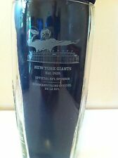 SUPER BOWL CHAMPIONS NEW YORK GIANTS NFL FOOTBALL BUD LIGHT BEER GLASS