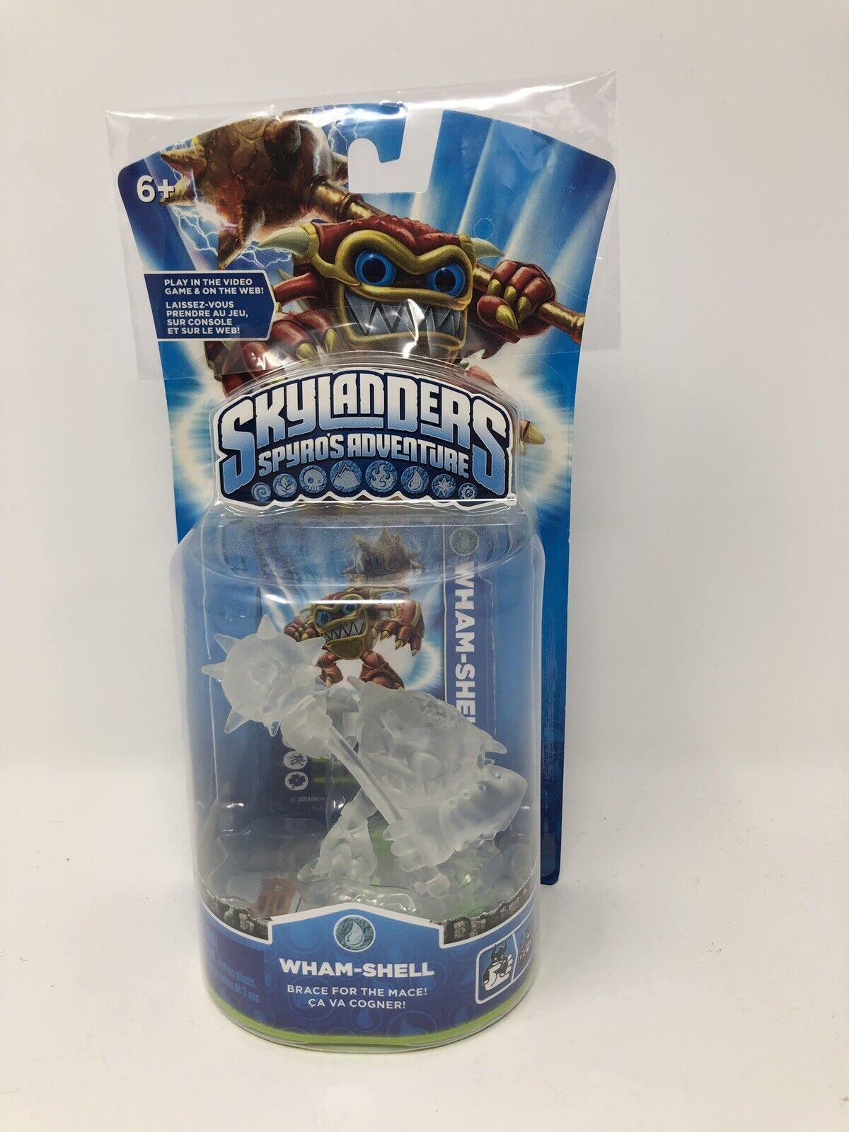 RARE Skylanders Spyros Adventure Crystal Clear Translucent Wham-Shell