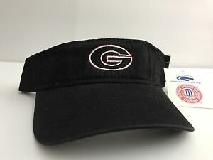 University Of Georgia UGA Bulldogs Strap Back Sun Visor Hat Cap ... 55e35f7fa09