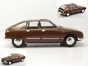 Citroen-GS-Pallas-Cigale-Brown-1-18-Norev-181627-Diecast-New