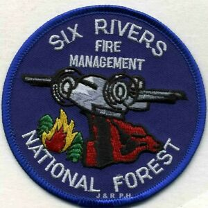 "California 3.5/"" round Wildland fire patch Angeles Roadrunners"