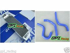 radiator &BLU HOSE HONDA CR80 1997-2002 2001 / CR85 CR85R 2003-2007 2005 2006