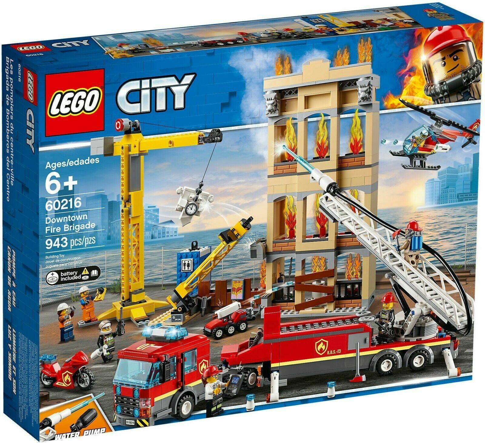 LEGO CITY POMPIERI MISSIONE ANTINCENDIO IN CITTA - LEGO 60216