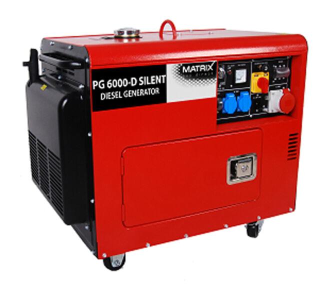 Stromgenerator PG 6000 D Silent | eBay