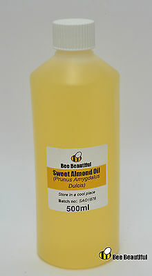 Sweet Almond oil BP- carrier oils, soap bath bomb making 30ml, 100ml, 200ml