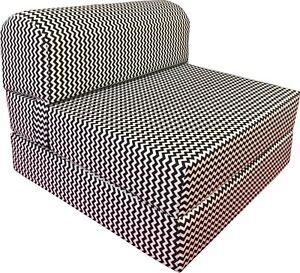 Twin Flip Chair Folding Foam Beds