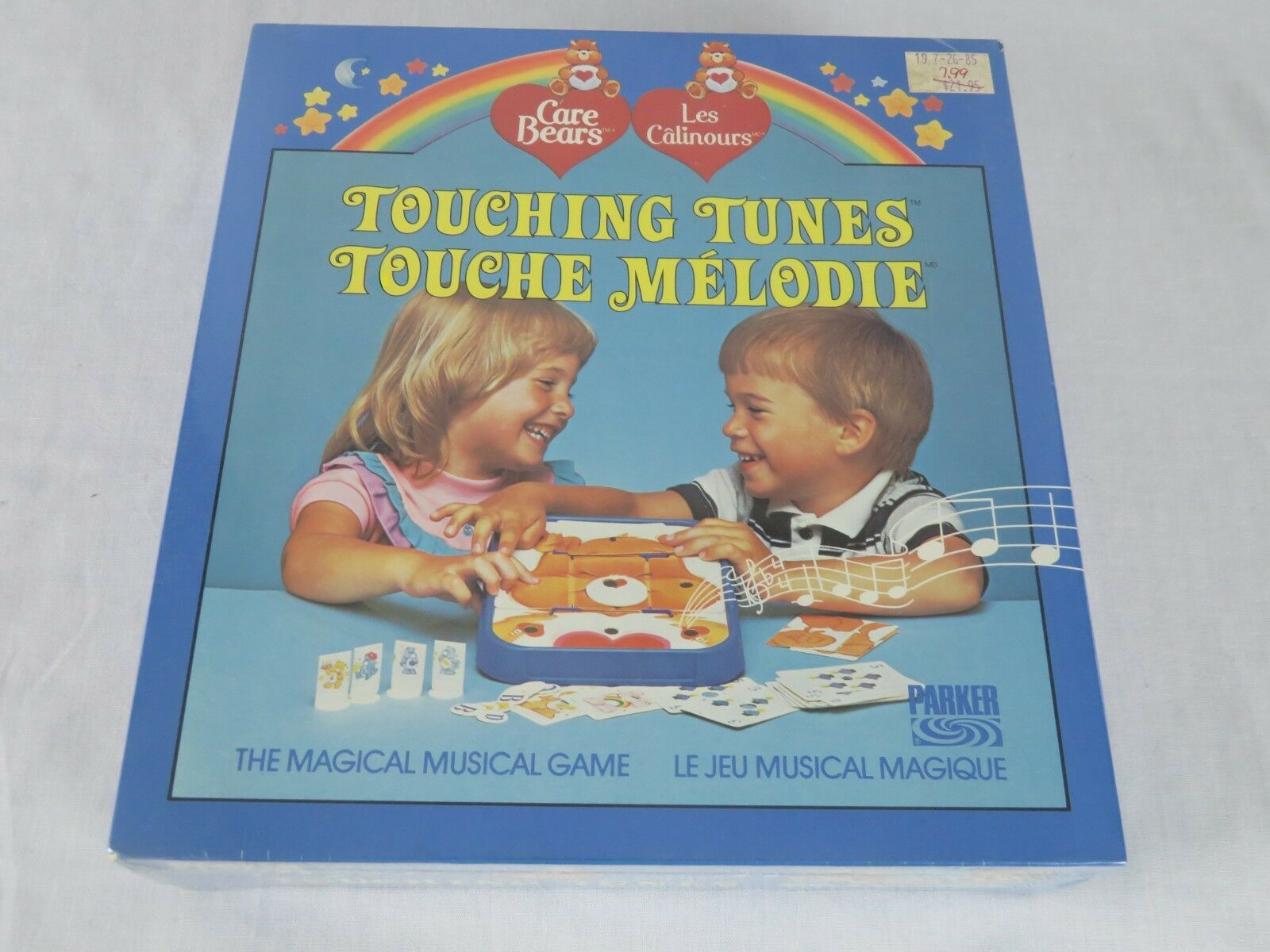 1984 Care Bears tocar melodías El Mágico Musical Juego Nuevo Sellado