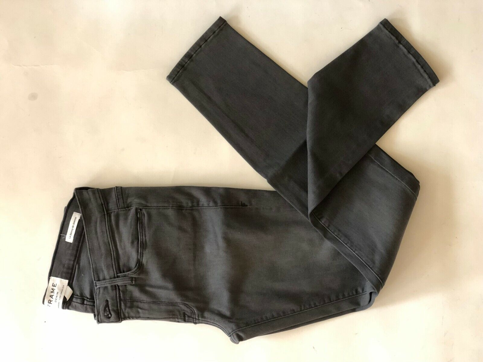 NWT FRAME graus Inn LSS769 low rise skinny jeans daSie 27