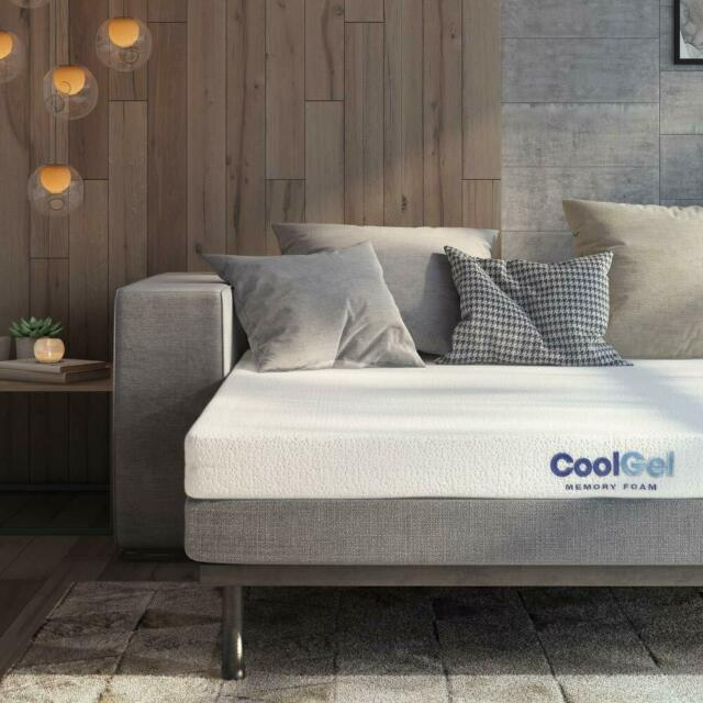 Twin Cool Comfort 5 Biofoam Gel Memory Foam Support Sleeper Sofa