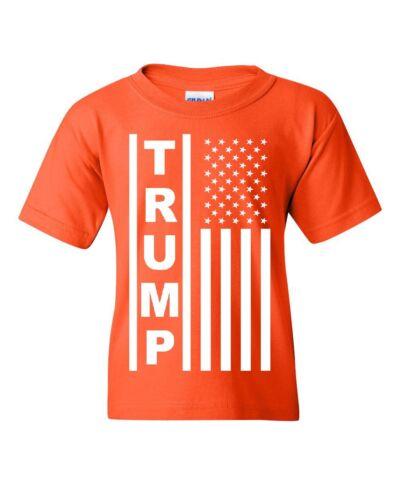 Trump Flag MAGA Republican Youth Tee American President MAGA Pence