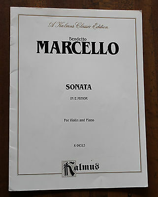 Sonata in E Minor: For Viola and Piano (Kalmus Edition)