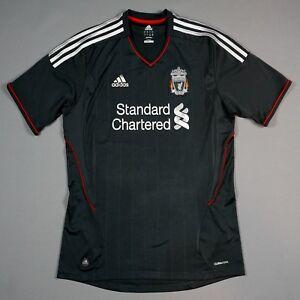 LIVERPOOL FC 2011-12 S small Away Jersey Football Shirt Camiseta The Reds | eBay