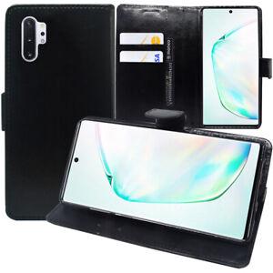 Etui-Coque-Housse-Portefeuille-Cuir-NOIR-Samsung-Galaxy-Note10-Plus-6-8-034