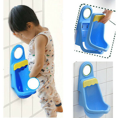 Cute Baby Children Boys Pee Potty Toilet Training Kids Urinal Bathroom 4 Suction
