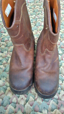 Timberland Pro 88537 Herren Anti Müdigkeit Comp Toe Arbeit Stiefel Sz 9 M Braun | eBay