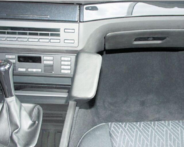 E34 88-96 Kunstleder Haweko Telefon Konsole für BMW 5er Bj