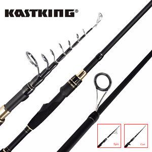 KastKing-BlackHawk-II-Fishing-Rod-Travel-Telescopic-Pole-Spinning-Casting-Rod-US