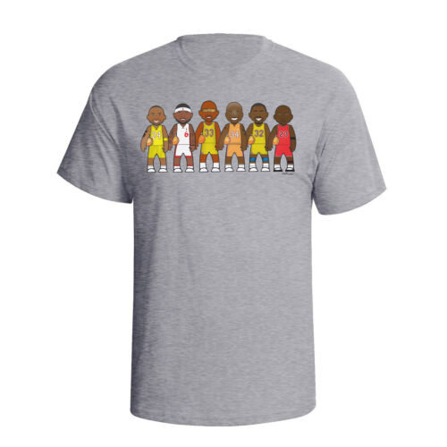 Basketball Legends By VIPwees Mens T-Shirt