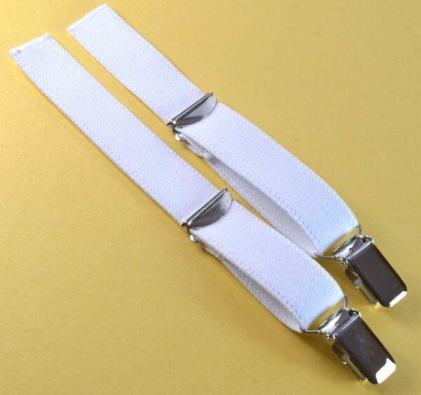 Straps, Strapsbänder 2cm breit mit Hosenträgerclip zum Annähen.