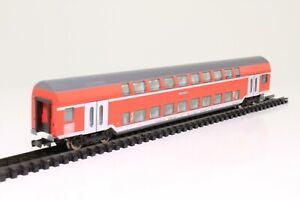 Fleischmann-8624-K-Spur-N-Doppelstockwagen-der-DB-RE4-Hagen-1-2-Kl-beleuchtet