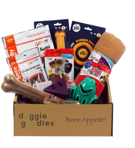 Doggie-Goodies-Dog-Treat-Gift-Box-Amazing-Value-Toys-Chews-Food-Dogs