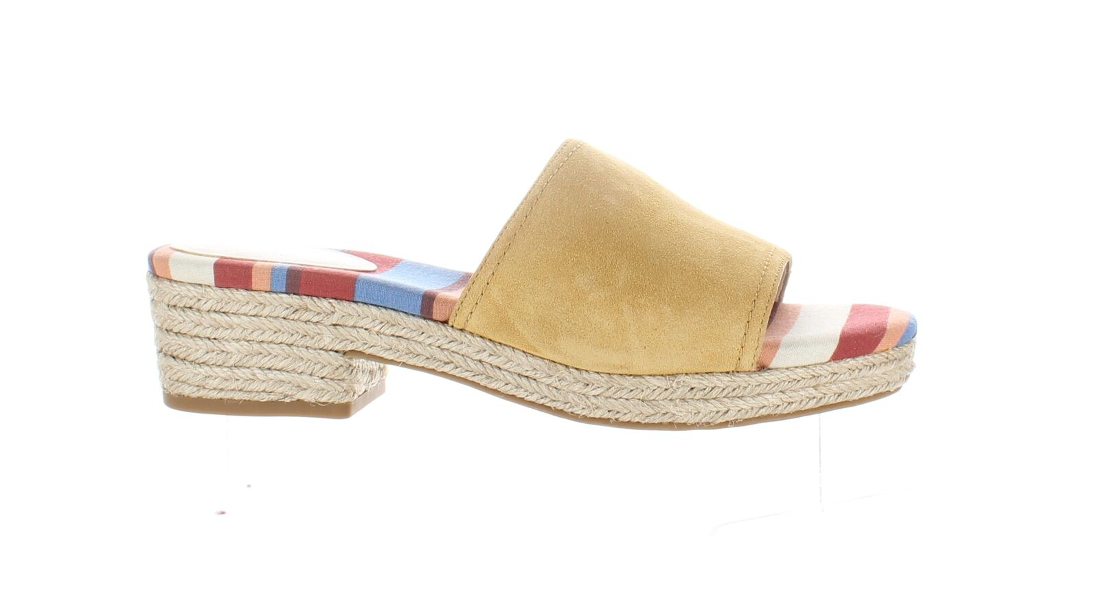Cole Haan Womens Giselle Spruce Yellow Suede Espadrilles Size 6 (1797470)