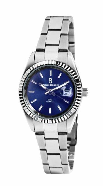 PIERRE BONNET WristWatch Women 6534c new ladies times Steel outlet blu italy