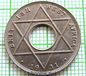 BRITISH-WEST-AFRICA-GEORGE-V-1931-1-10-PENNY-UNC