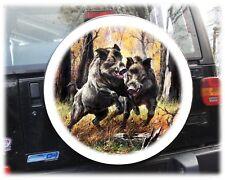 Wildsau Jagd Reserveradabdeckung Reifencover Bezug Honda Suzuki Vitara 68x21cm