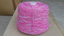 fil à tricoter Laine Fantaisie Rose 800 grammes