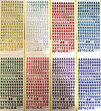 Christmas Stickers 4 Designs with Extra Holographic Stickers 250 x 185mm Sheets