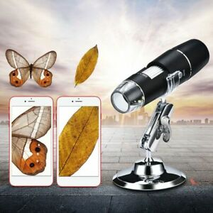 Details about WiFi1000X Digital Microscope 8-LED Video Magnifier Camera For  iPhone iOS/Android