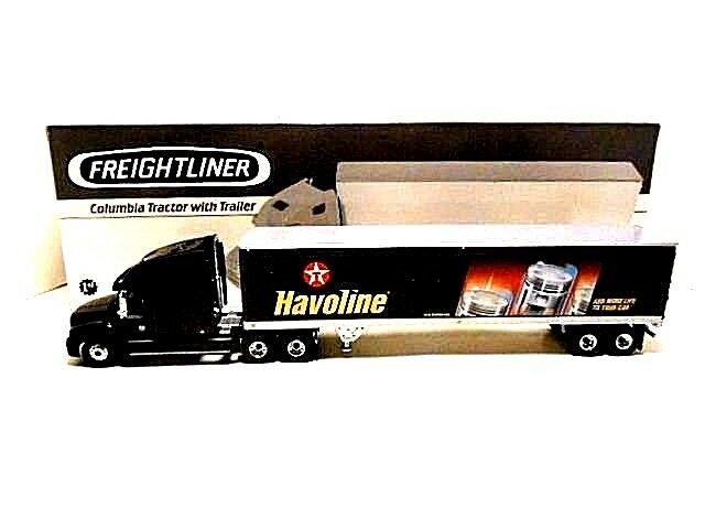 2002 First Gear  'Freightliner Columbia Tractor & Texaco   Havoline Box Trailer'