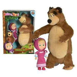 bambola personaggio di masha e orso gioco set giocattolo per bambini