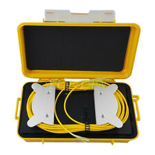 Fiber Optic 1 KM OTDR Launch Cable Box OTDR Dead Zone Eliminator OTDR Fiber Ring